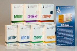 Цитомаксы, пептиды